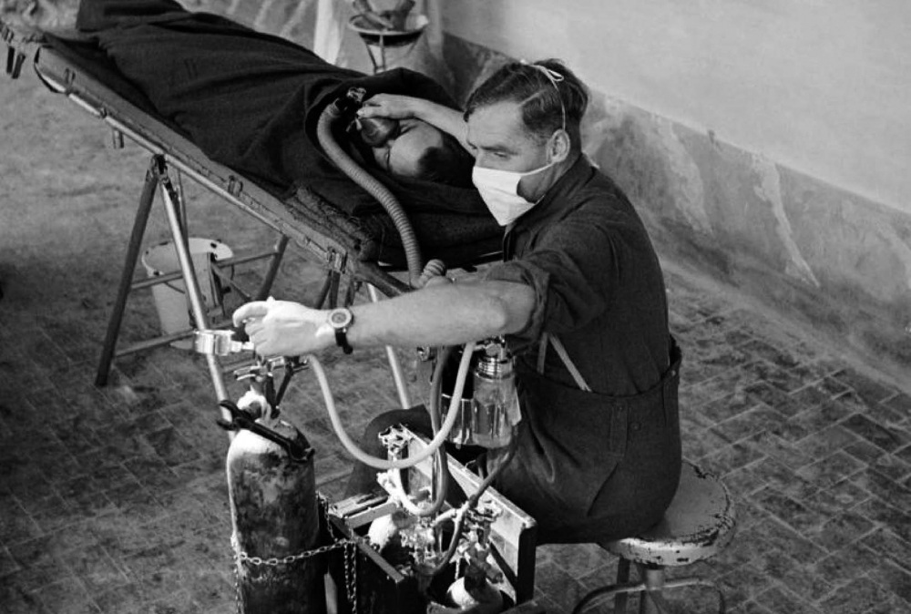 Field Surgical Unit in Italy 1943_Major J H Grace