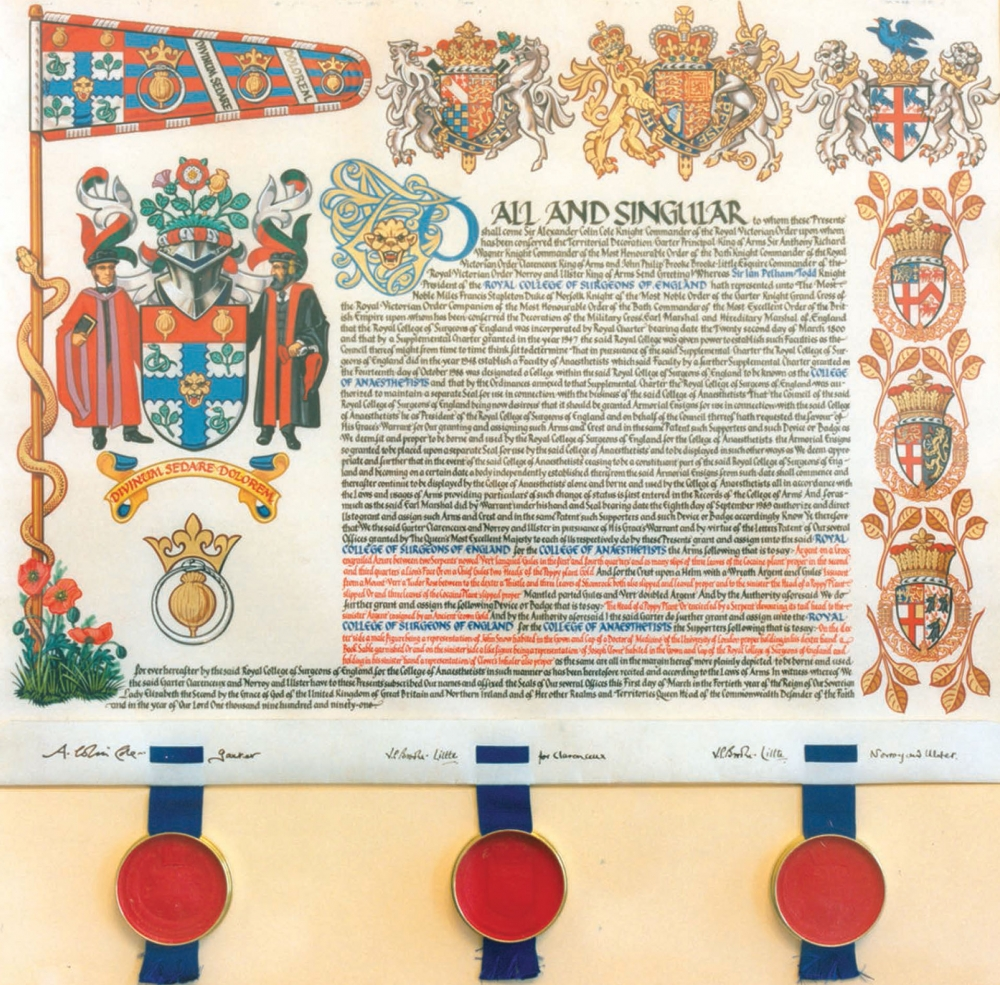 Royal Charter transcript