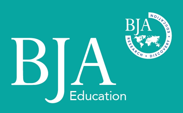 BJA Education journal