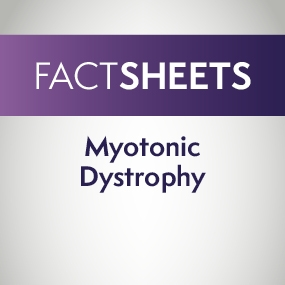 Myotonic Dystrophy Factsheet cover