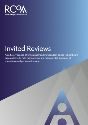 Find out more about the College's invited review service
