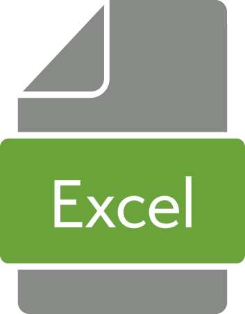 Icon for a Microsoft Excel file