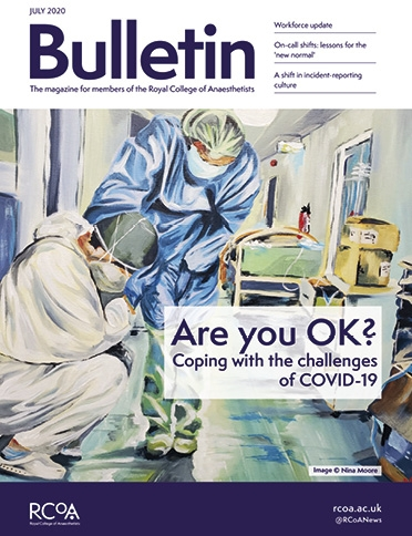 July Bulletin front cover