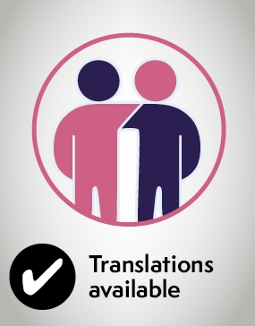 Caring for someone who has had an anaesthetic or sedation – translations available